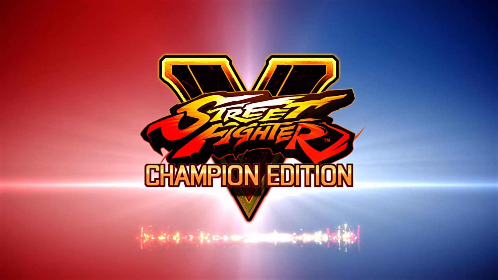 Vyšel Street Fighter V: Champion Edition